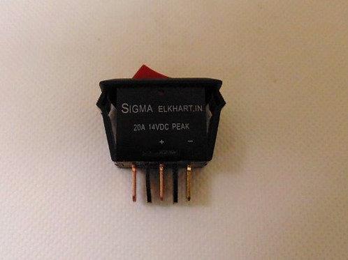 Sigma Power Rocker Switch