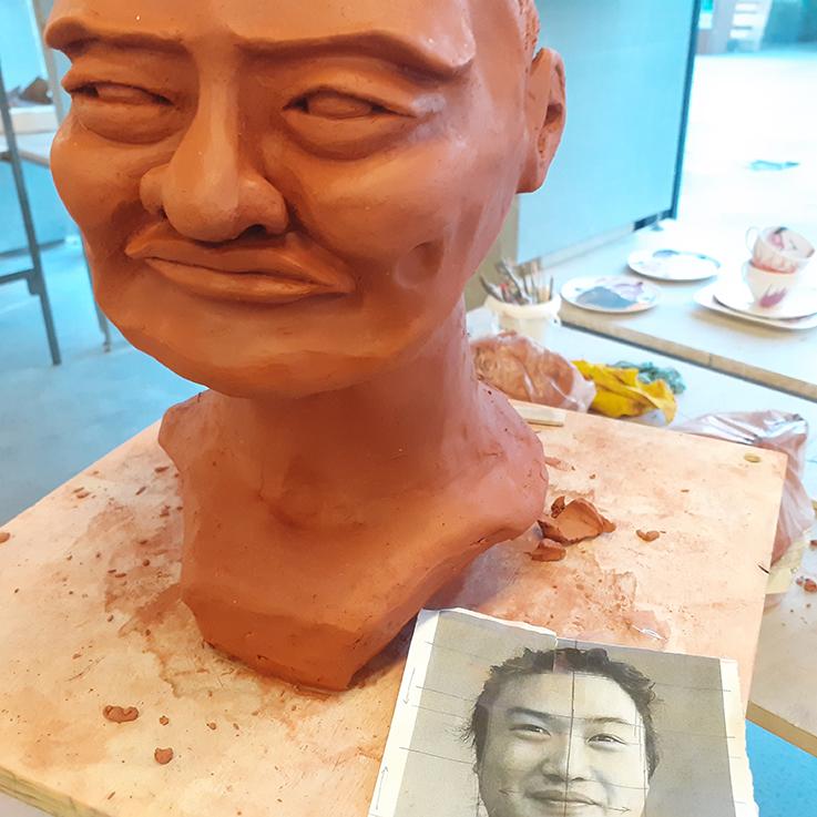 Workshop Portrait Sculpture