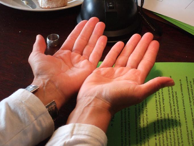 Keramiek & handlijnkunde
