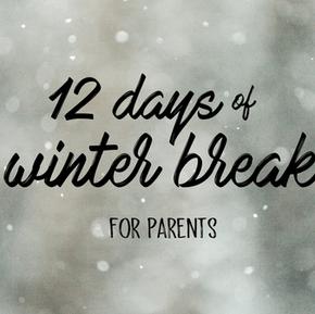The 12 Days of Winter Break 🎶