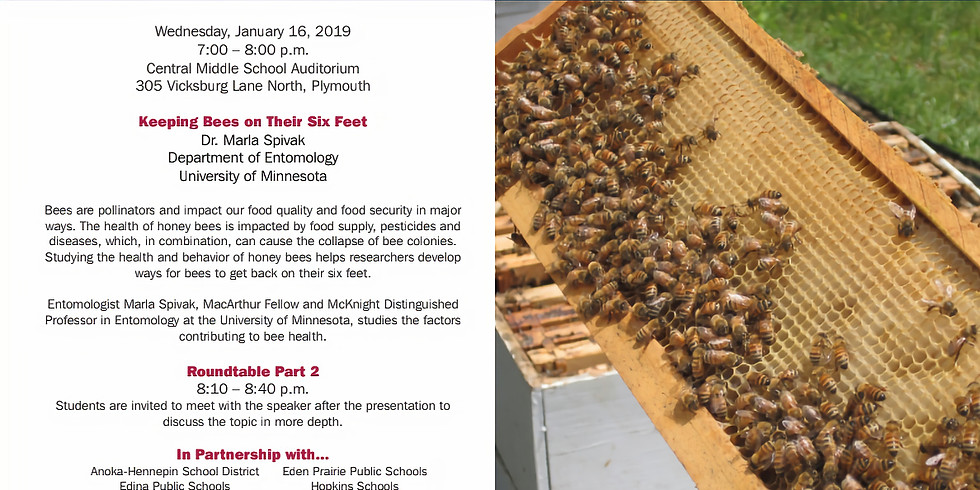 Young Scientist Roundtable - Keeping Bees on Their Six Feet