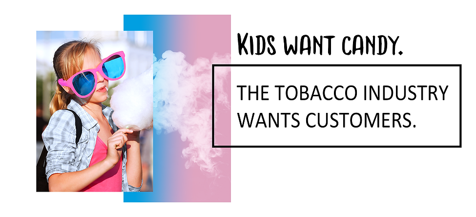 Flavored vape is hooking our kids.