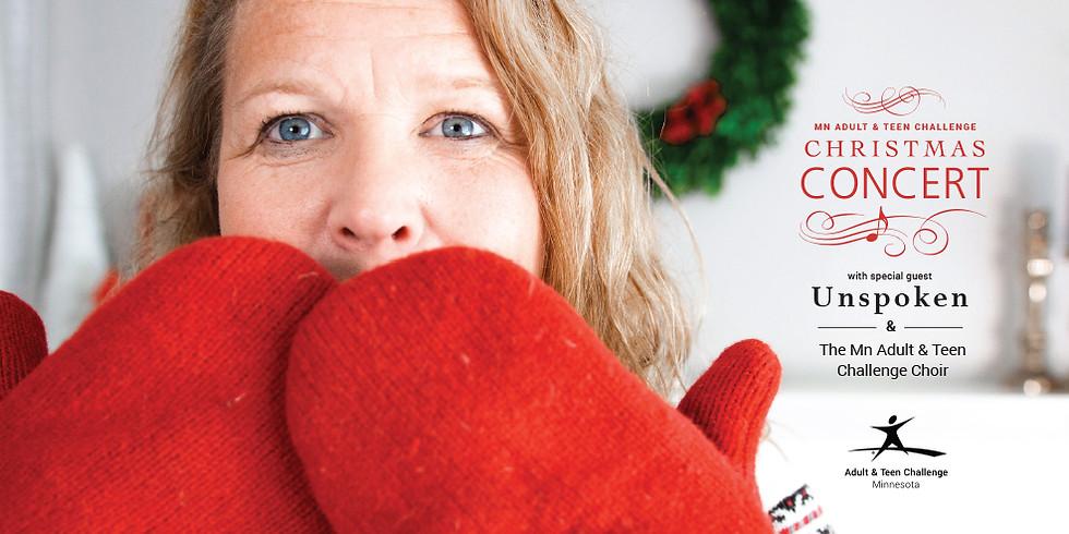 Minnesota Adult & Teen Challenge-  Christmas Concert Featuring Unspoken