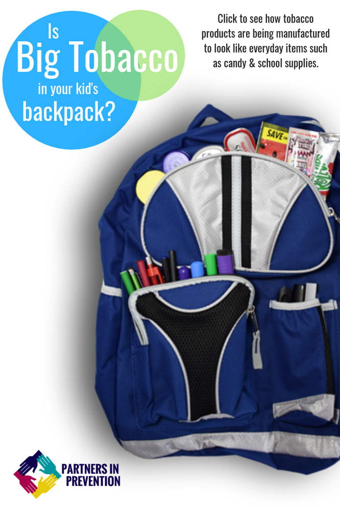 Is Big Tobacco in your Kids Backpack