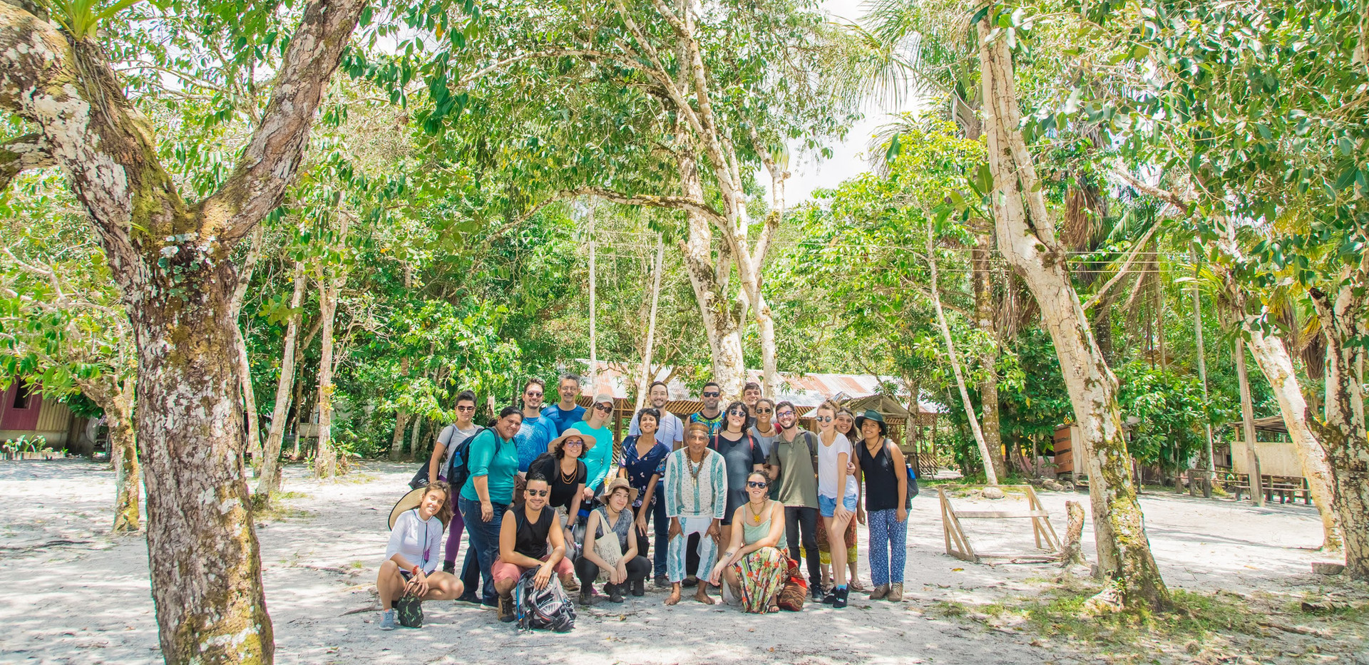 Expedicao amazonia 21 na comunidade Tres