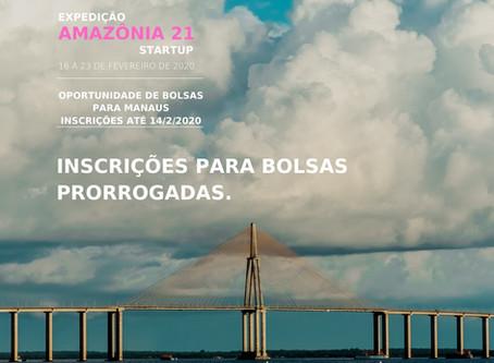 ACADEMIA AMAZÔNIA ENSINA REALIZA EXPEDIÇÃO VOLTADA PARA STARTUPERS E ABRE SELEÇÃO PARA BOLSISTAS