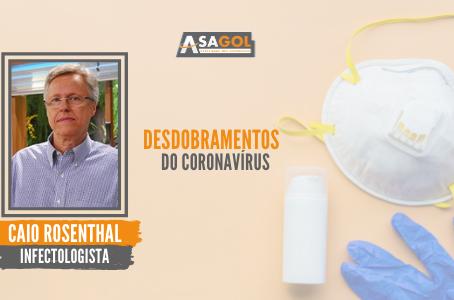 Desdobramentos do coronavírus sob a visão do infectologista Caio Rosenthal