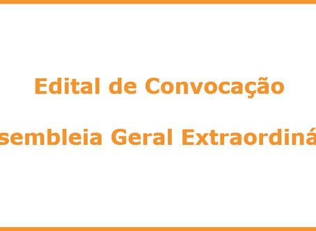Edital de Convocação - Assembleia Geral Extraordinária (política de desconto do PPCM)