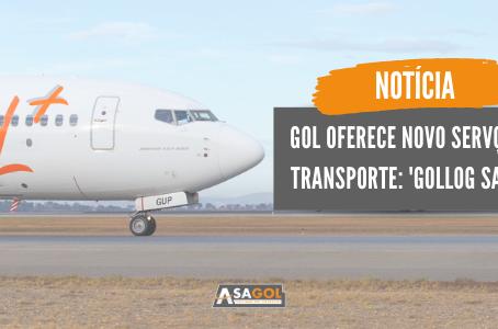 Gol oferece novo serviço de transporte: 'GOLLOG Saúde'