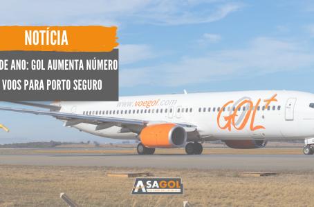 Final de ano: GOL aumenta número de voos para Porto Seguro