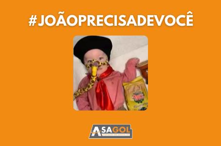 JOÃO PRECISA URGENTEMENTE DE AJUDA!