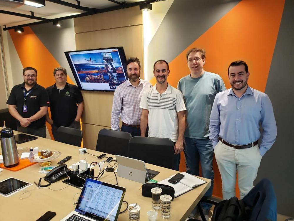 reunião da equipe técnica e científica do fadigômetro sobre fadiga na aviação.