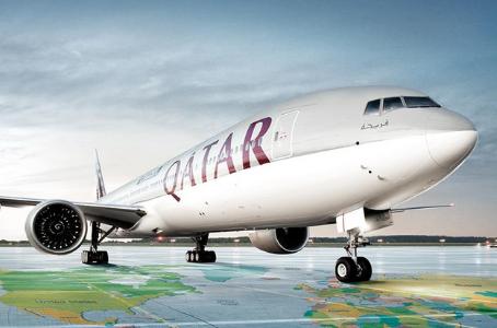 Qatar opera voo com todos tripulantes e passageiros vacinados