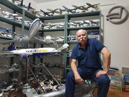 After Landing Cmte. Criatura: a história de um dos maiores colecionadores da aviação