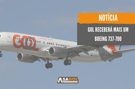 GOL receberá mais um Boeing 737-700