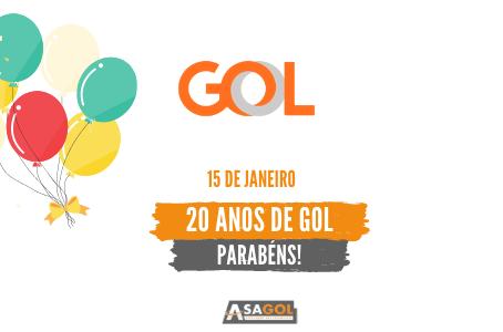 Aniversário de 20 anos da GOL Linhas Aéreas