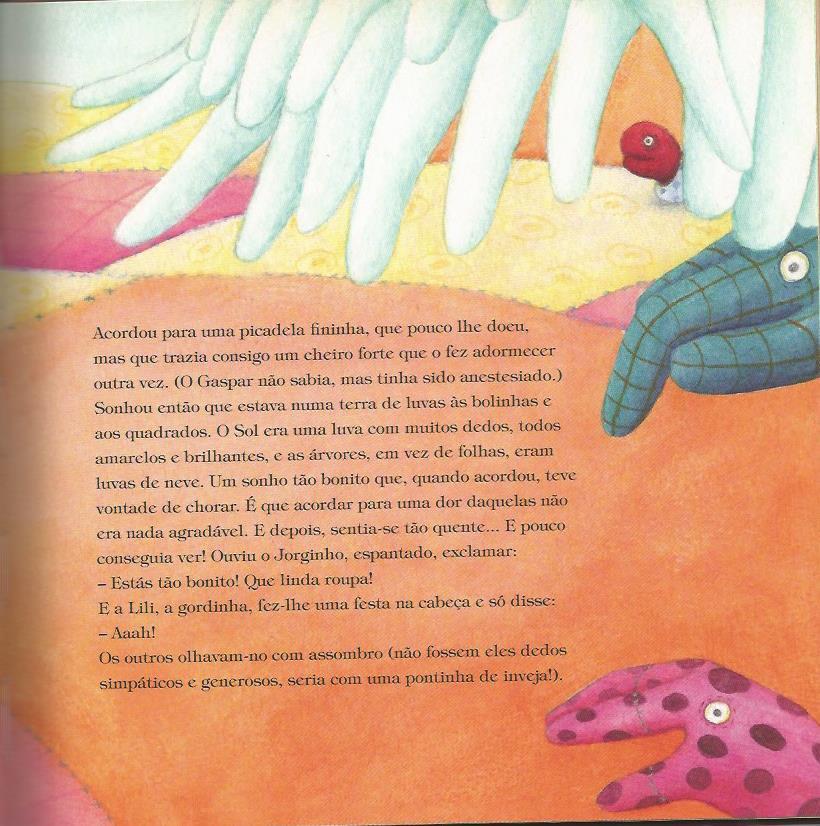 Gaspar, o dedo diferente - detail