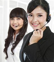 live customer service person for windshield