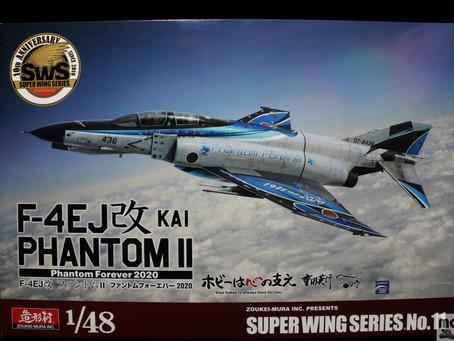 "(Unbox 開箱)  Zoueki-Mura 造型村 1/48  F-4EJ Kai          ""Phantom Forever 2020""     (SWS48-11)"
