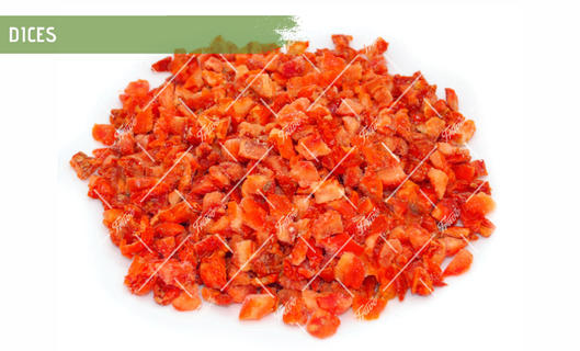 Oven Semi Dried IQF Tomatoes Dice