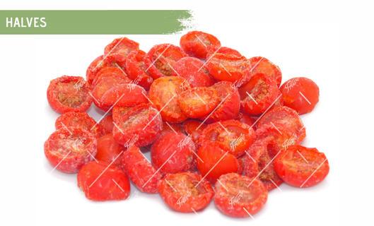 Oven Semi Dried IQF Cherry Tomatoes Halves