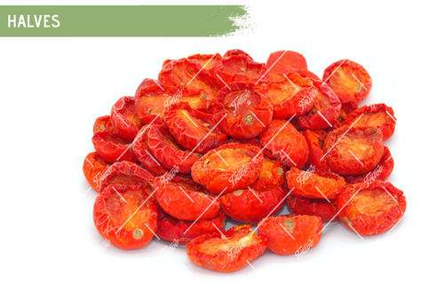 Oven Semi Dried IQF Tomatoes Halves