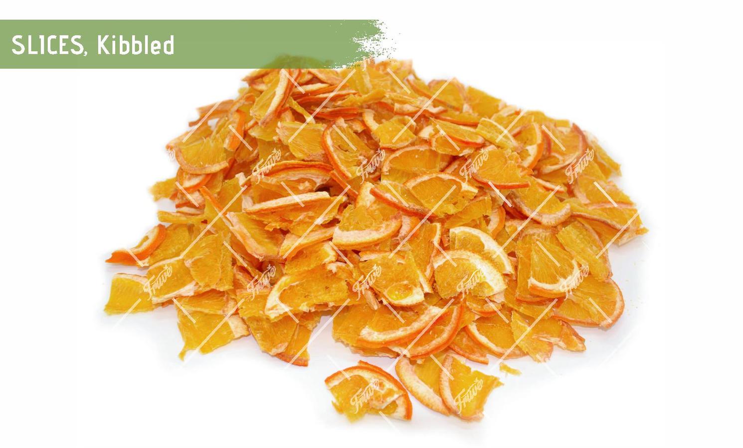 Orange Slices Kibbled
