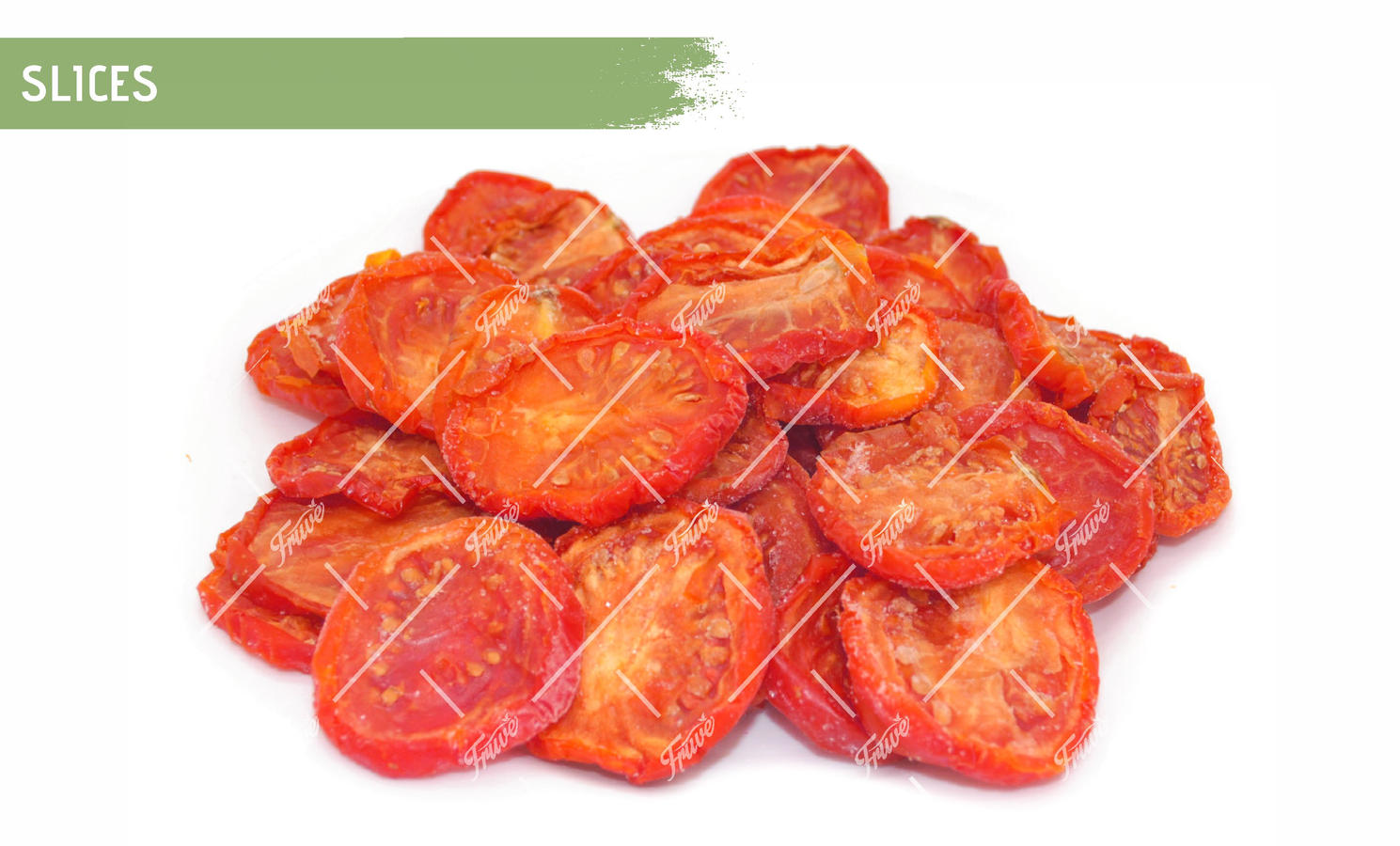 Oven Semi Dried IQF Tomatoes Slices Marinated