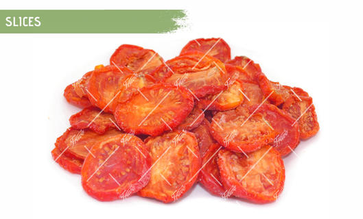 Oven Semi Dried IQF Tomatoes Slices Marinated