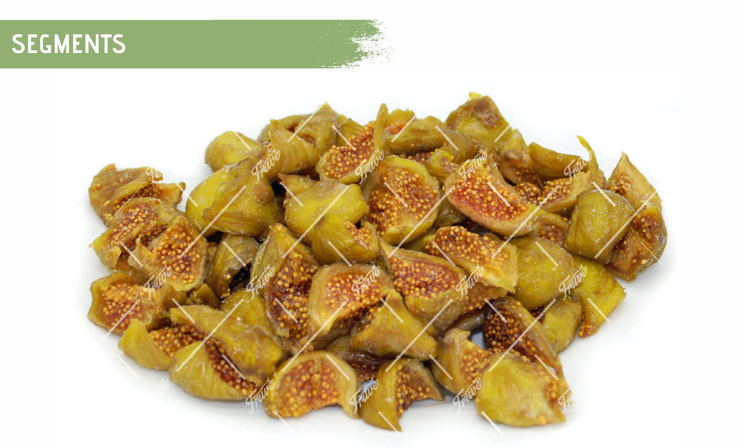 Oven Semi Dried IQF Green Figs