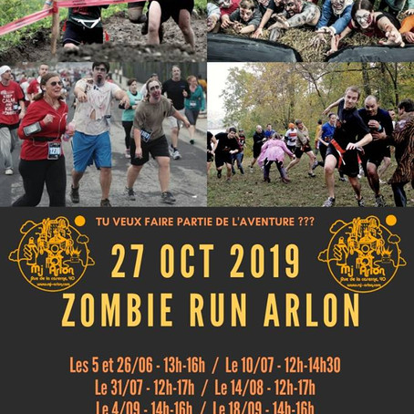 Une Zombie Run pour Halloween !