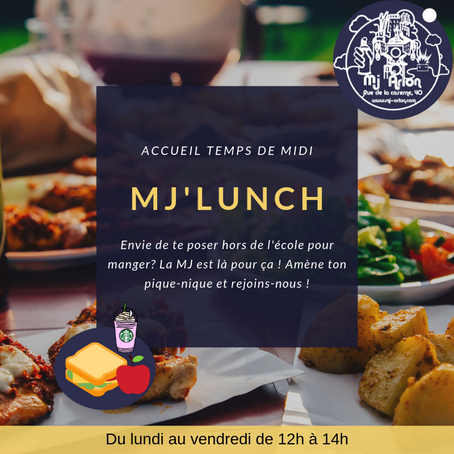 Accueil aux students & MJ LUNCH !