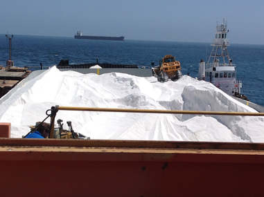 Cincinnati Bulk Terminals now offers coarse solar salt for water conditioning and industrial water softening applications.