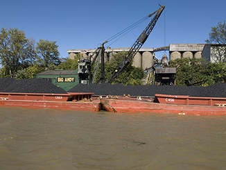 Load Straight from Barge to Rail