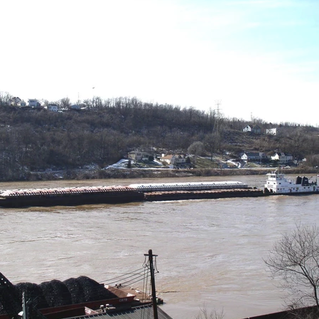 Load from Truck to Barge