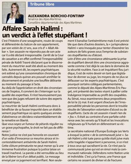 Affaire Sarah Halimi : un verdict à l'effet stupéfiant !