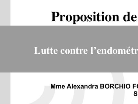 #1 PPL - Proposition de loi visant à lutter contre l'endométriose