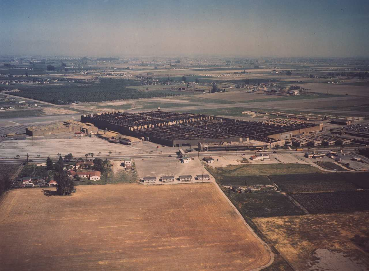 Downey site aerial