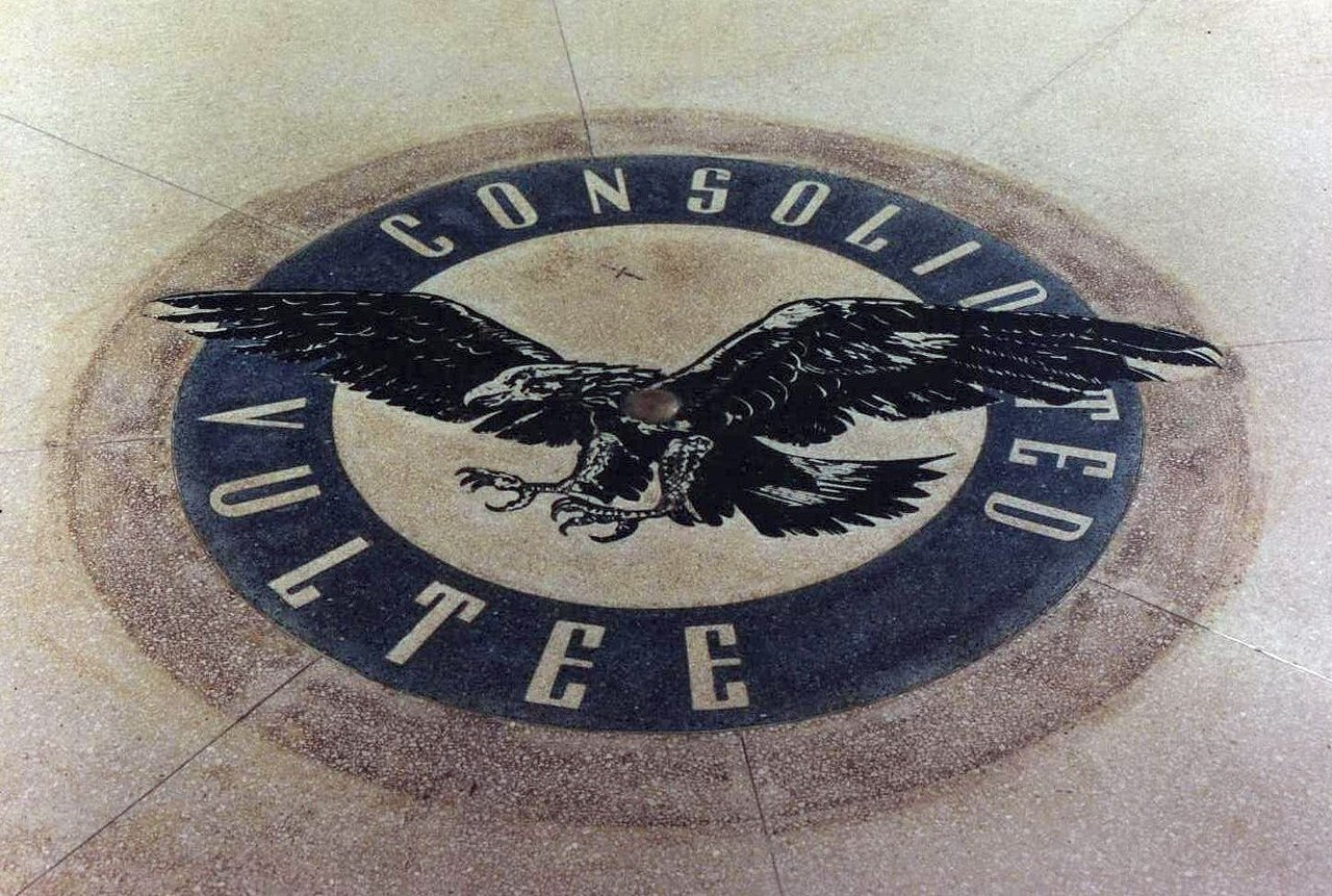 Consolidated Vultee Mosaic Logo