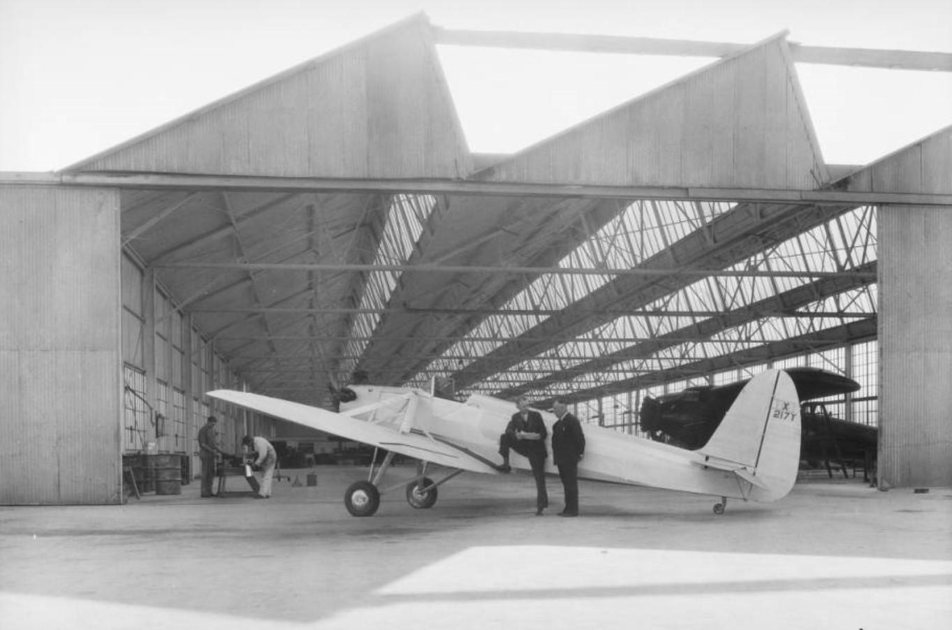 Kinner plane Downey 1933