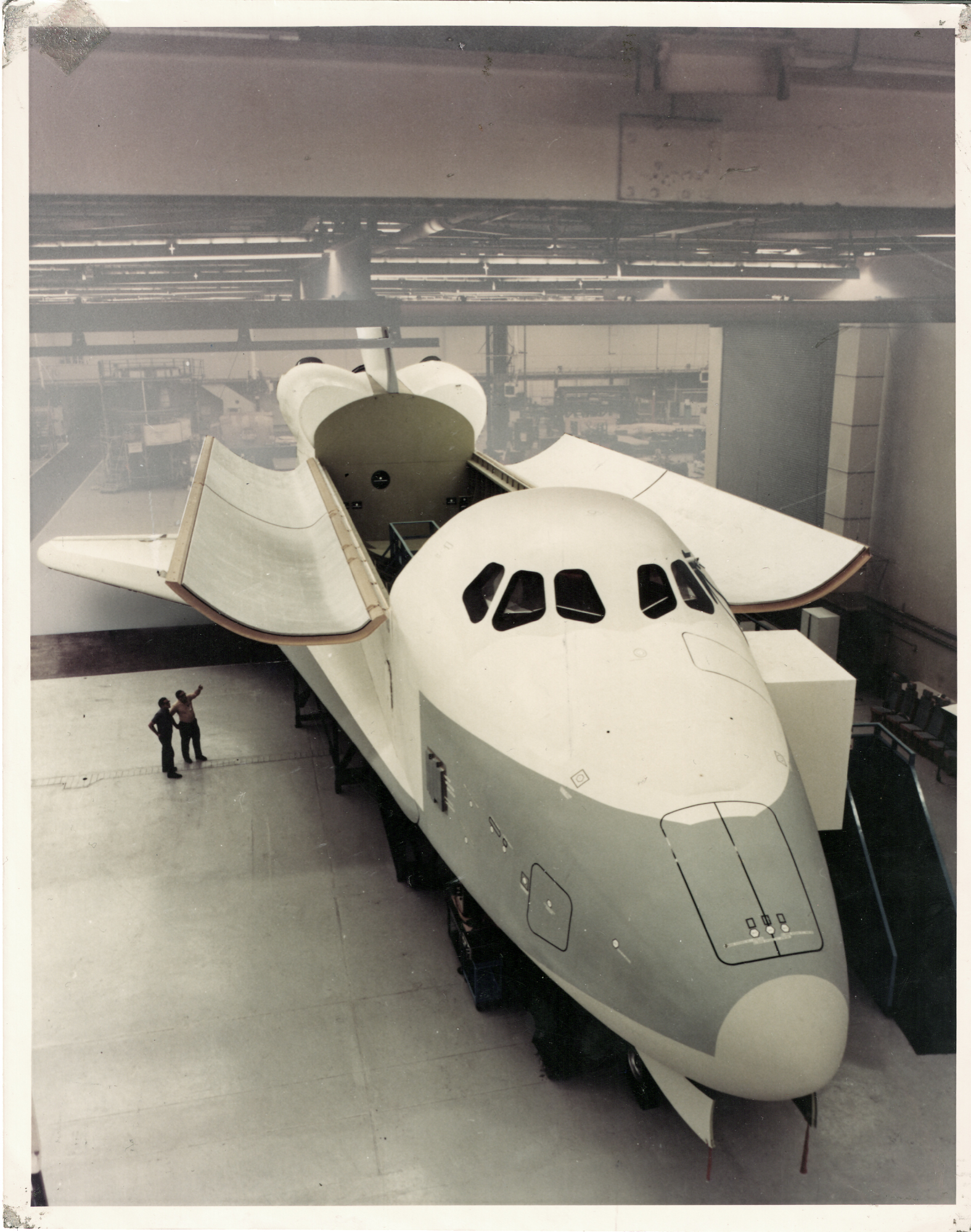 Shuttle Orbiter Mock-Up