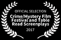 2017 OFFICIAL SELECTION - CrimeMystery F