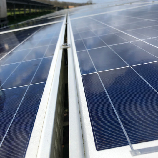 cleaning solar panels UK