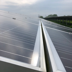 cleaning solar farms UK