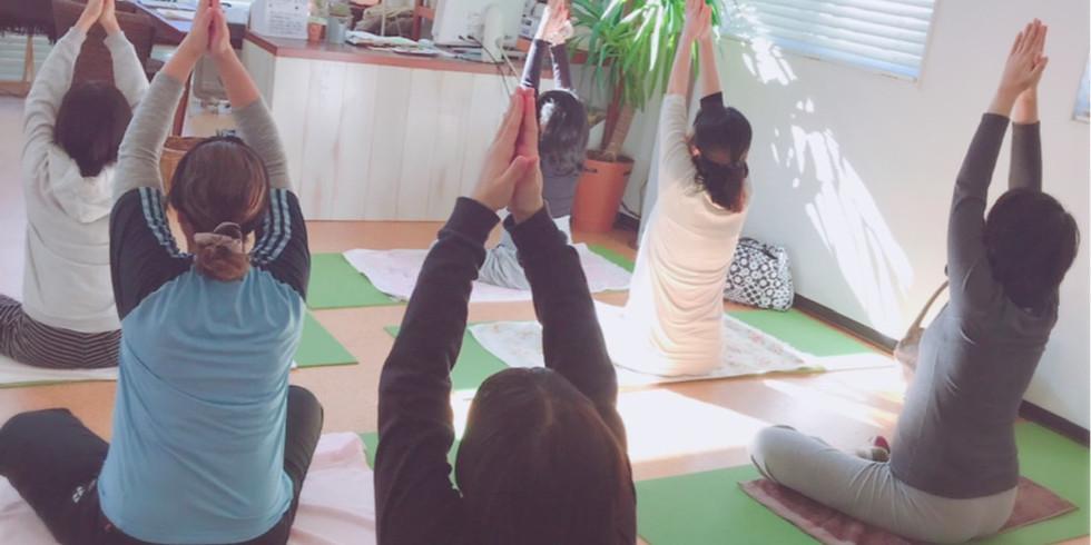 3/11 yogaマタニティクラス