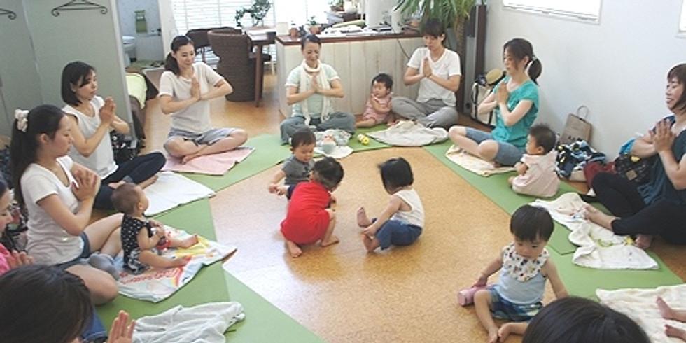 6/17 yogaベビー&ママ(7~12ヶ月クラス)