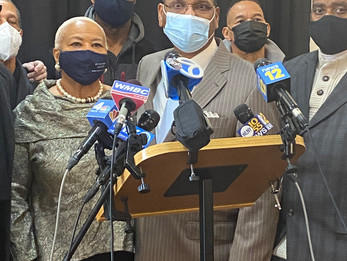 WCBS - Newark Churches Partnering Up to Encourage More Members of the Black Community to Get Vaccine