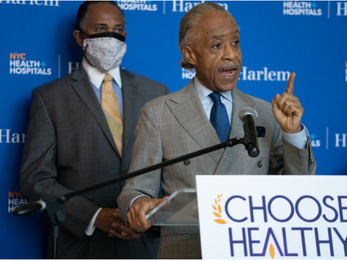 New York Daily News - Sharpton gets COVID vaccine to dispel reluctance among New Yorkers