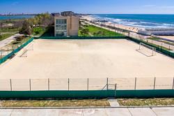 Пляжная спорт площадка