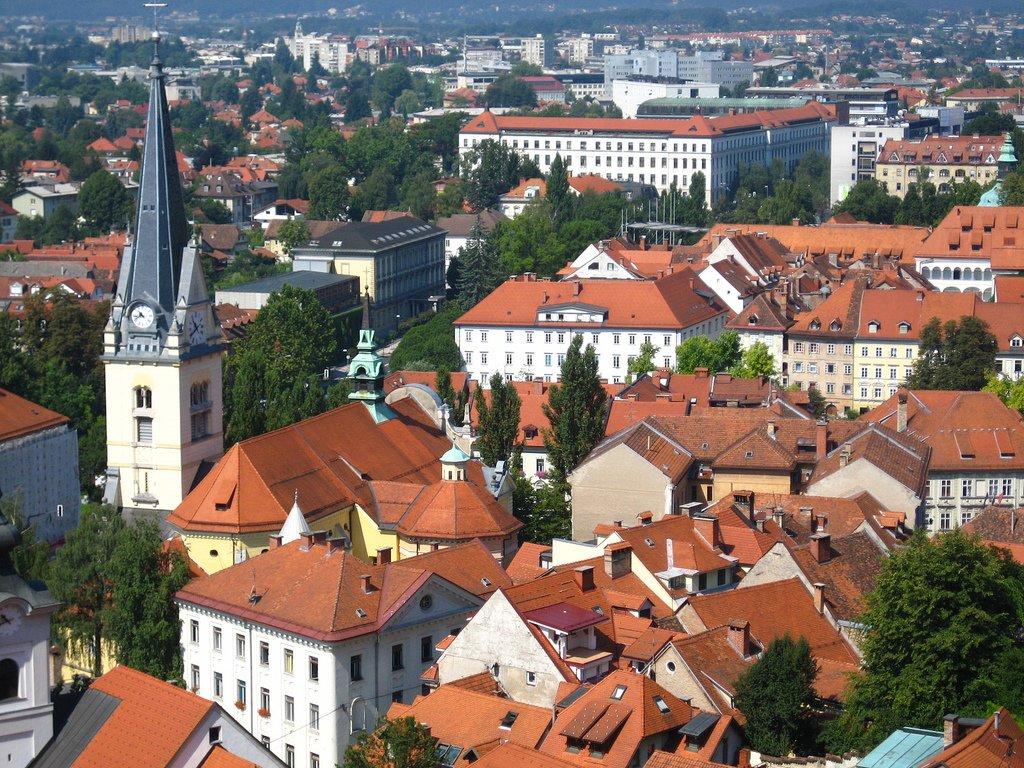 Столица Словении - Любляна